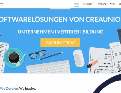 Creaunion GmbH mit neuer Homepage