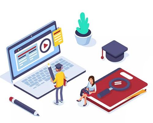 Lernplattform für Bildungseinrichtungen mit Pflichtkursen und Erfolgskontrolle