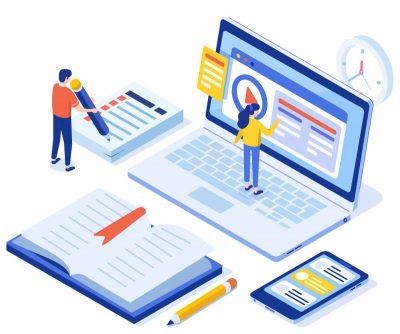 Digitale E-Learning Plattform für Verlage